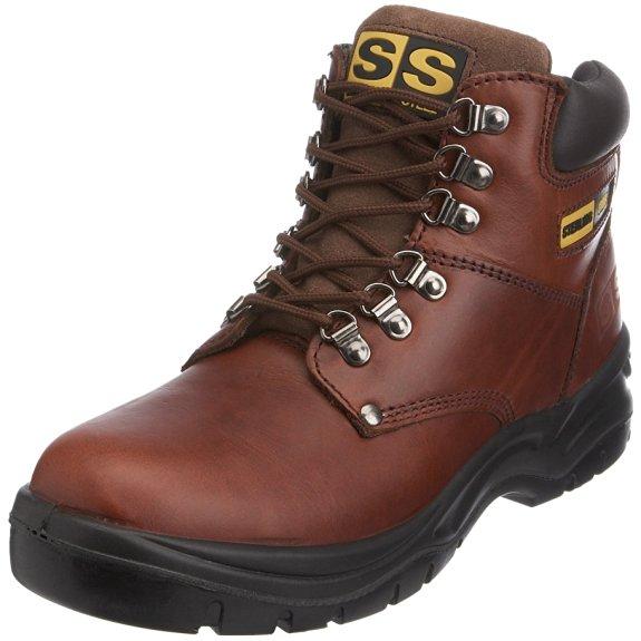 Calzado de protección de cuero para hombre Sterling Safetywear Sterling Steel