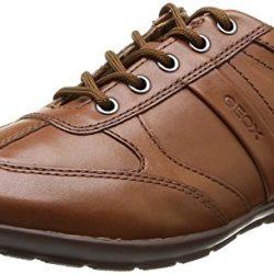 Zapatos Geox de cordones de cuero para hombre