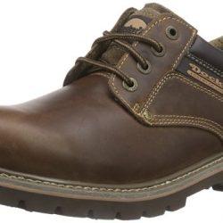 Zapatos de cordones Dockers de cuero para hombre