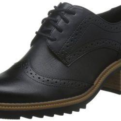 Zapato de cuero Clarks Balmer Bella, Oxford para Mujer